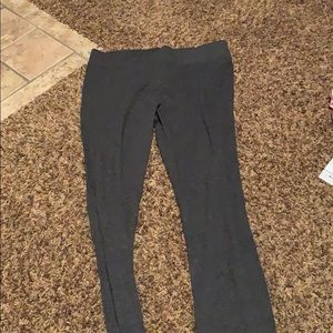 Brand new leggings gray in color